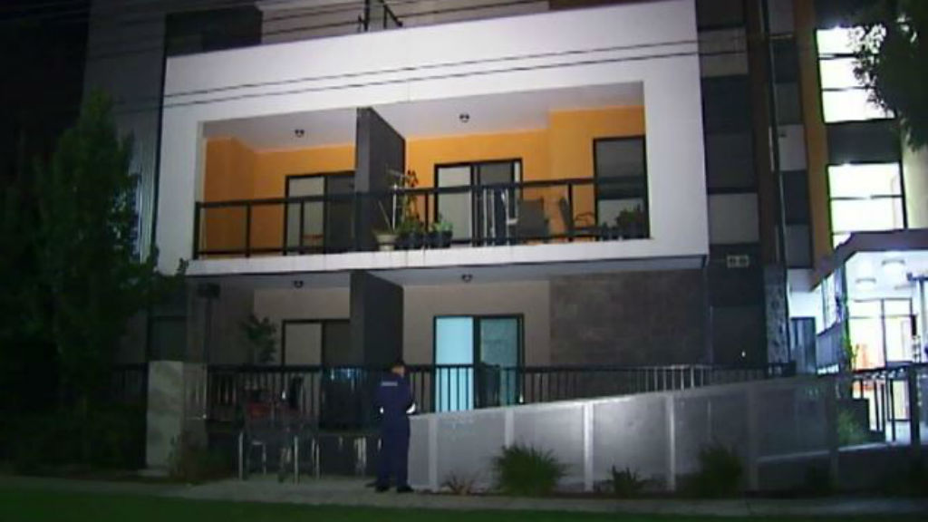 Mr Wright died after falling 12 metres from a balcony in Ringwood. (9NEWS)