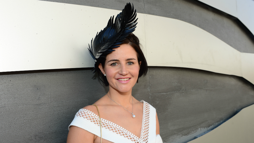Michelle Payne mobbed on Derby Day at Flemington