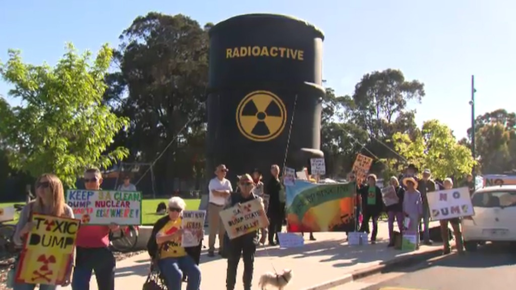 Special assembly to weigh SA nuclear dump