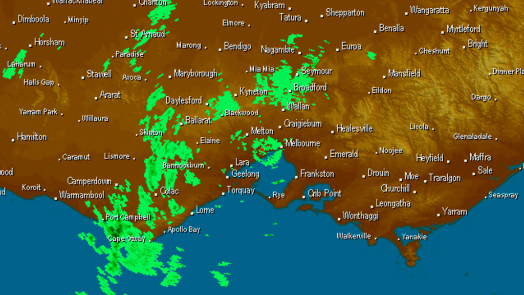 Severe weather warning issued for Victoria