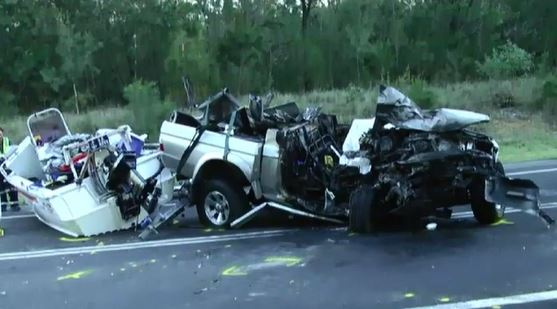 A man has died after his car exploded in a crash on the NSW South Coast. (9NEWS)