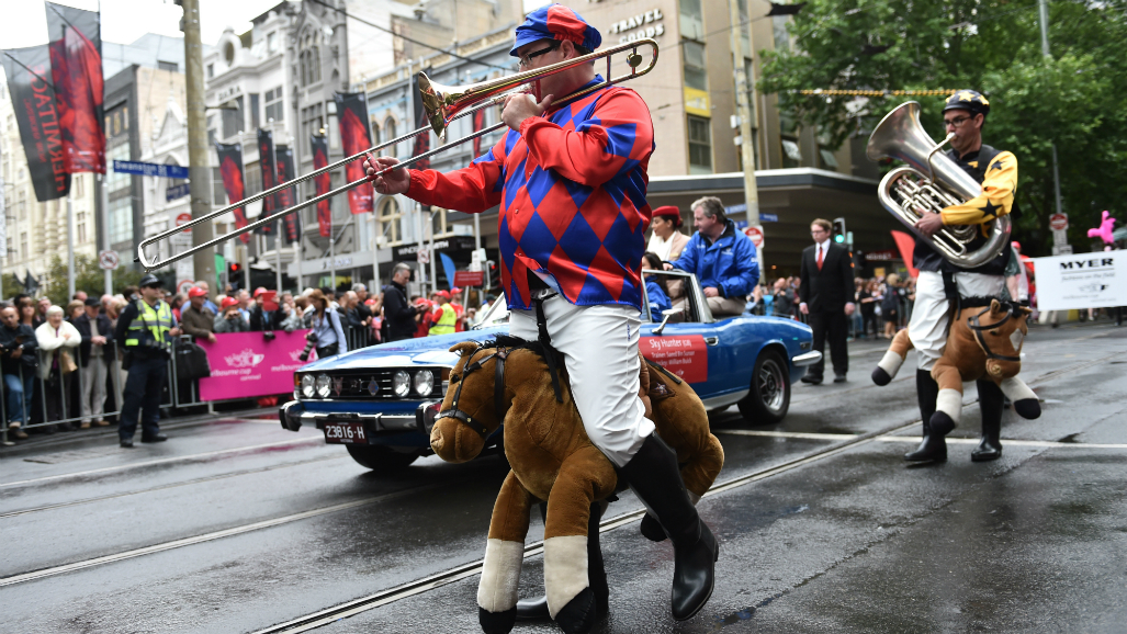 Melbourne Cup 2016: Chance of rain for Melbourne Cup Parade