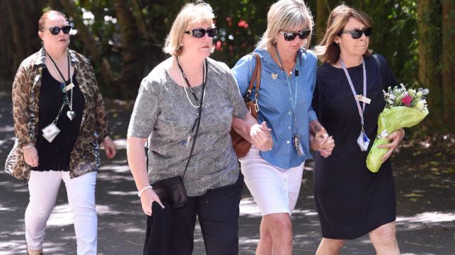 Hundreds farewell Sydney family of four