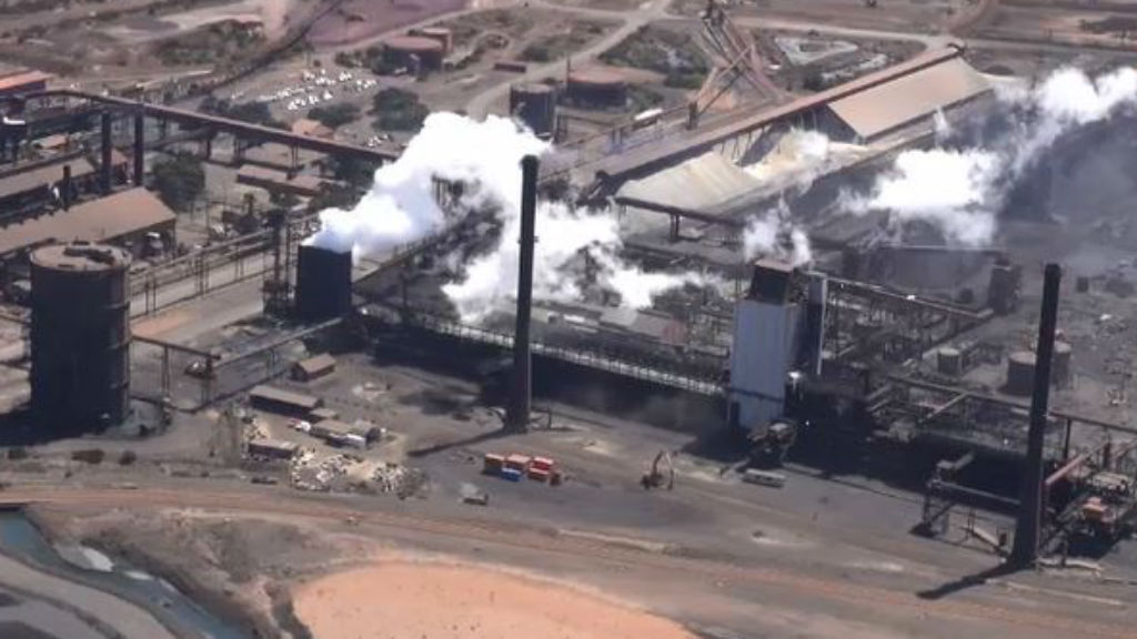 Arrium says it will create 44 new jobs at its Whyalla plant. (9NEWS)