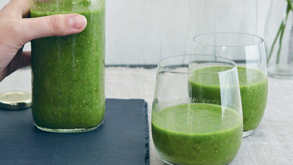 Jesinta Campbell's green goddess