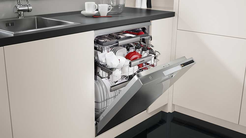 AEG dishwasher. Image: Supplied