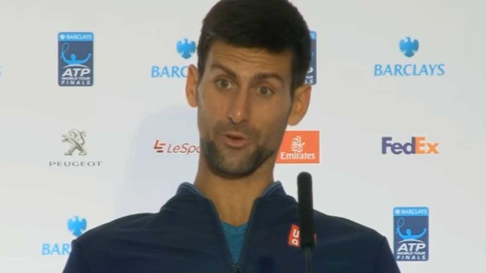 Tennis: 'Snow' joke as angry Djokovic blasts media inquisition