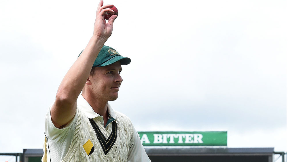 Test of patience for Hazlewood