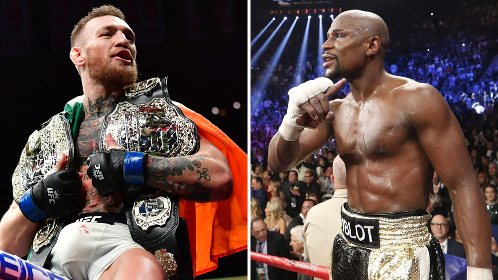 Mayweather labels UFC star Mcgregor an 'ant'