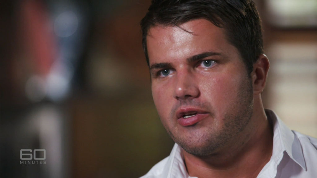 Gable Tostee on 60 Minutes. (60 Minutes)