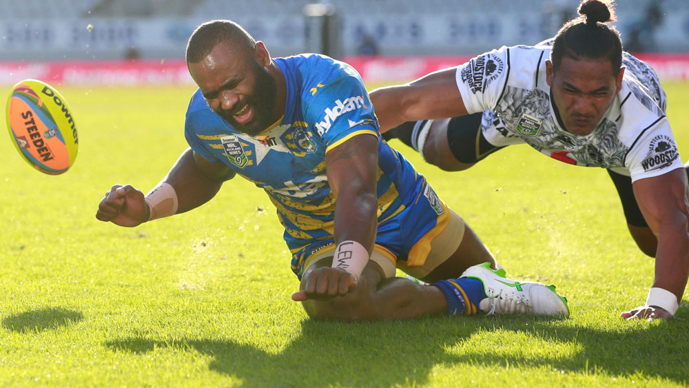 After meeting in the 2016 final, the Eels and Warriors will clash in the pool stage next year. (Getty Images)
