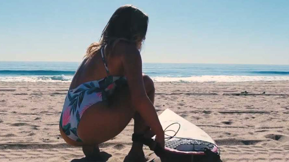 Surfer takes on California and Iceland waves within 24 hours