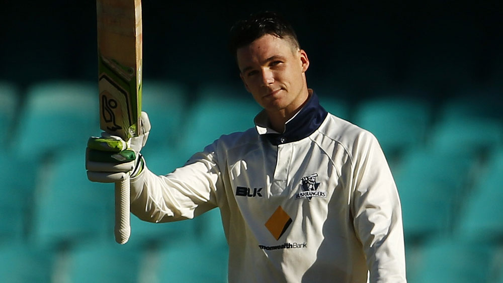 Peter Handscomb scored a century for Victoria at the SCG. (Getty Images)