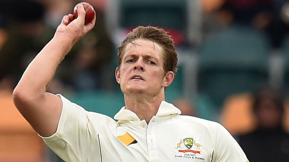 Joe Mennie will play grade cricket in a bid to keep his Test spot. (AAP)