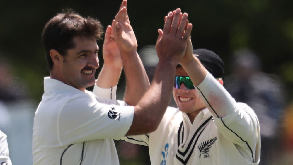 Colin de Grandhomme was the star for New Zealand. (Getty Images)