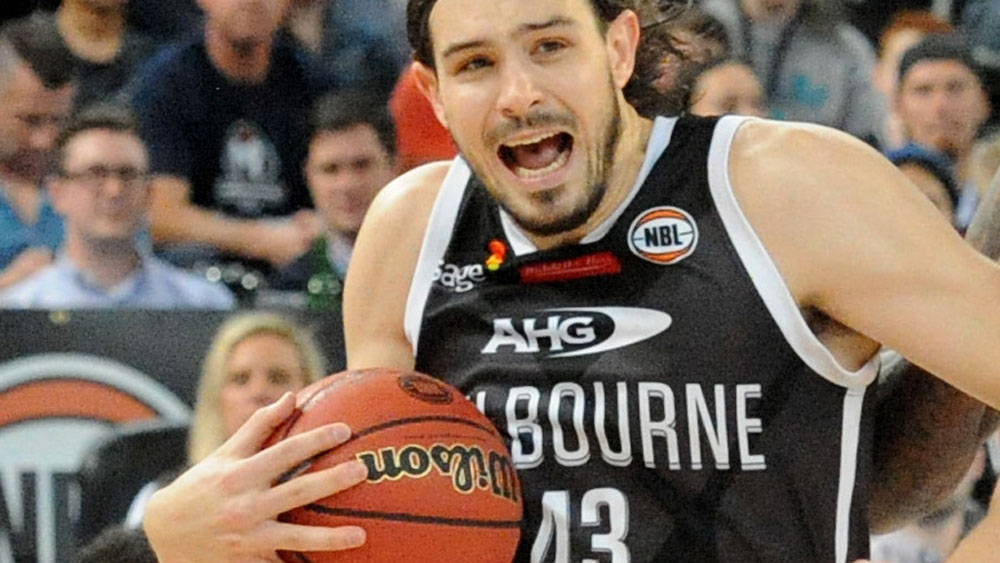 Chris Goulding played a starring role for Melbourne United. (AAP)