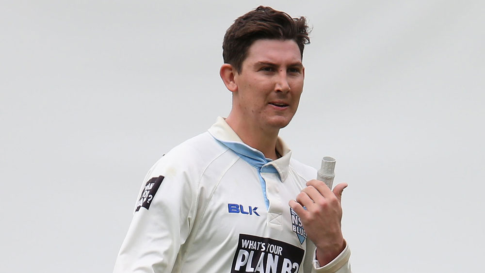 Nic Maddinson was a shock selection for the Test team. (Getty Images)