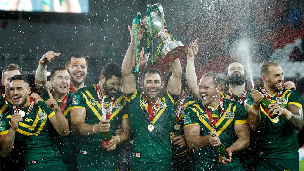 The Four Nations win saw the Kangaroos reclaim the top spot. (AAP)