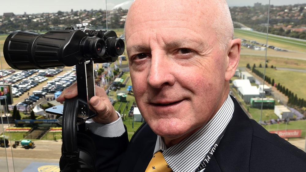 Noted race caller Greg Miles has announced his retirement. (AAP)