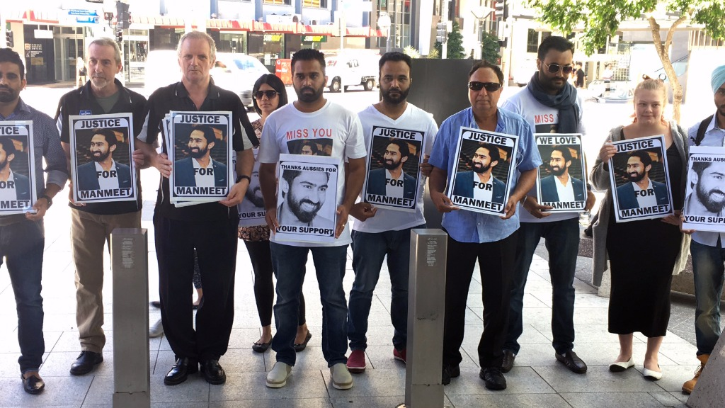 'Justice for Manmeet' rally at court