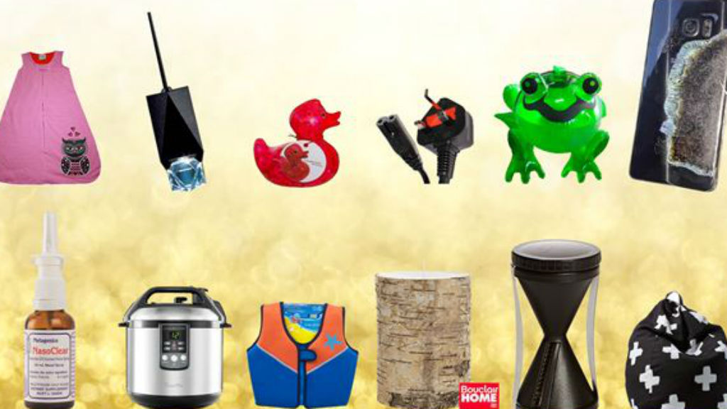 Twelve recalls of Christmas: Choice lists 'dodgy' clothes, appliances and other products