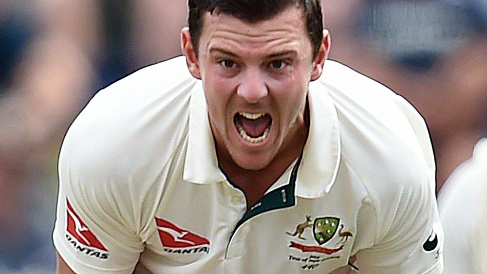 Josh Hazlewood is confident of keeping his new-ball combination with Mitchell Starc. (AAP)