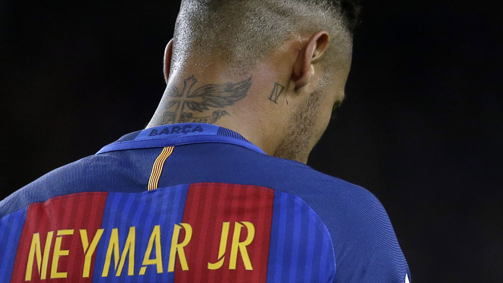 Teammates Messi and Neymar in battle for FIFA goal of the year