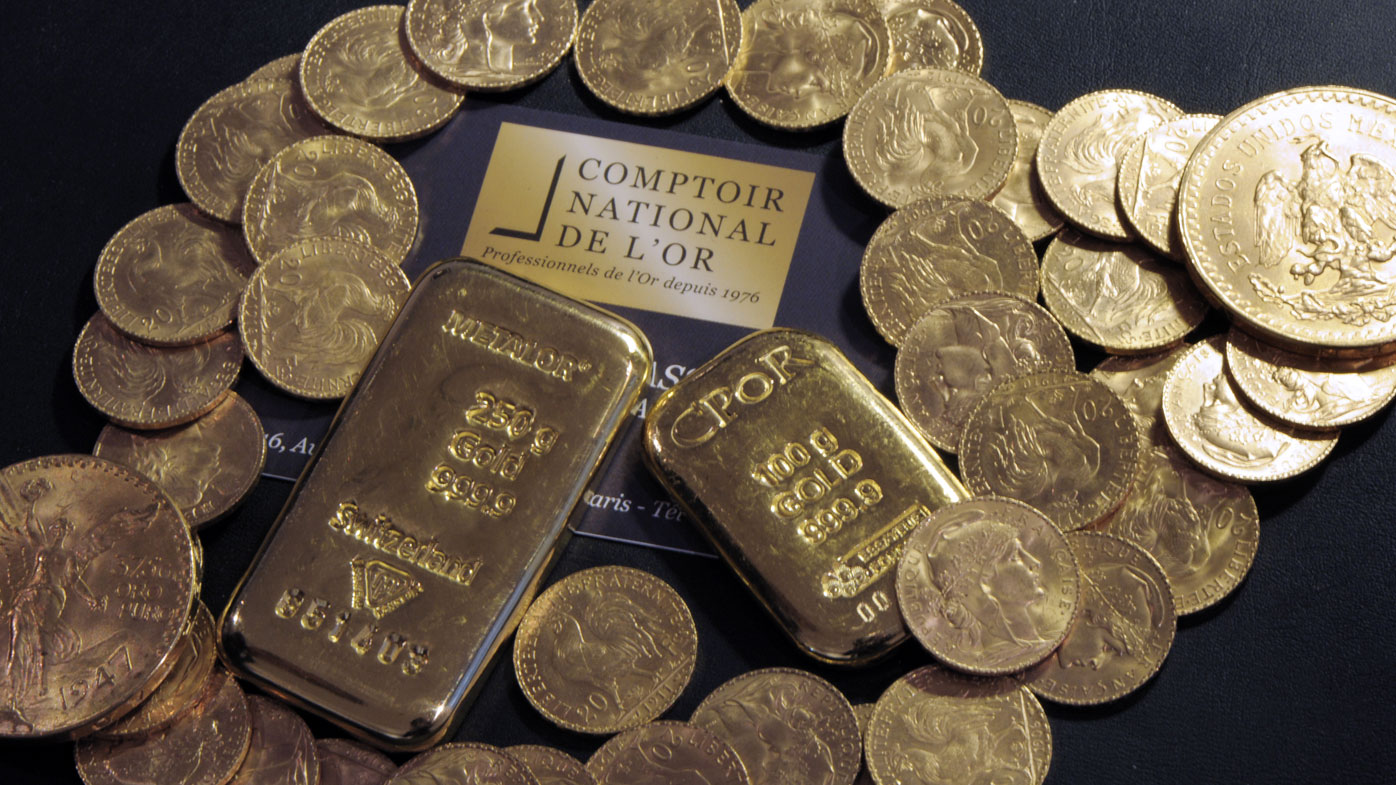 Frenchman finds 100kg of gold hidden in new home