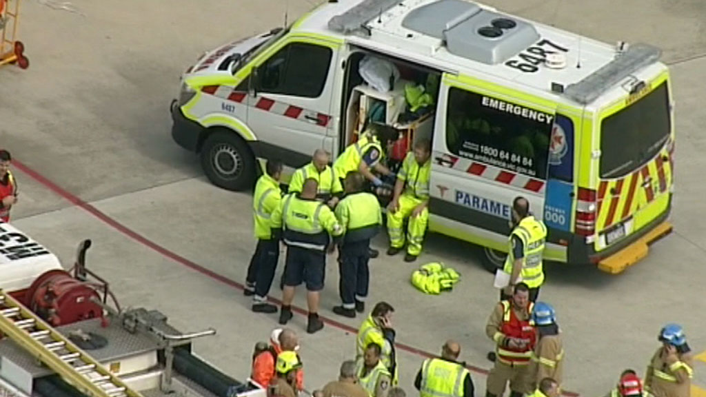 The area has been evacuated. (9NEWS)