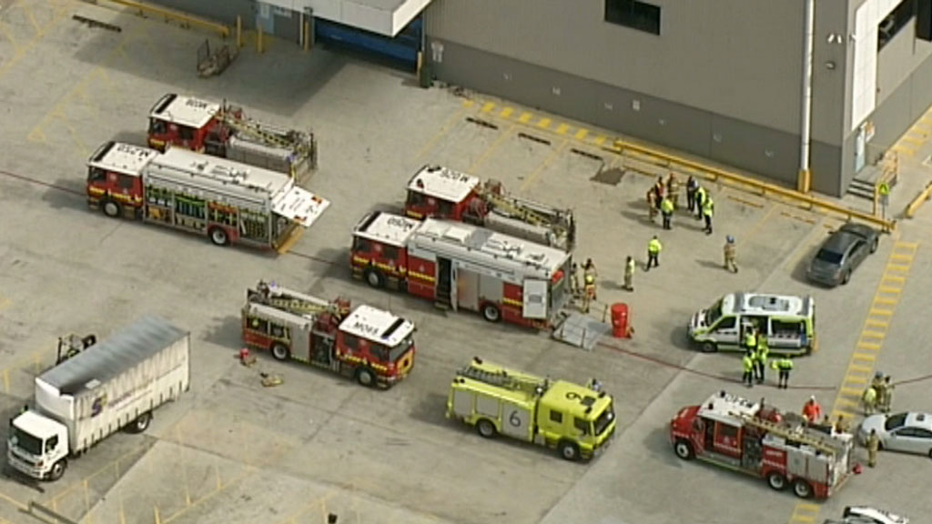 Eight people hospitalised after chemical leak at Melbourne Airport