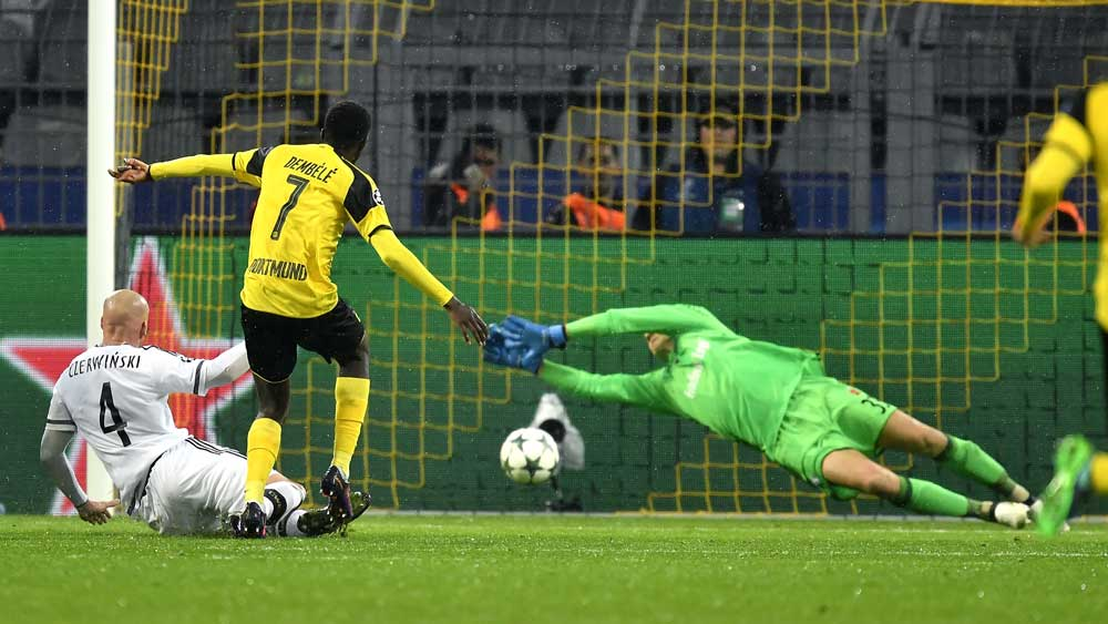 Goals galore as Dortmund claim 8-4 ECL win