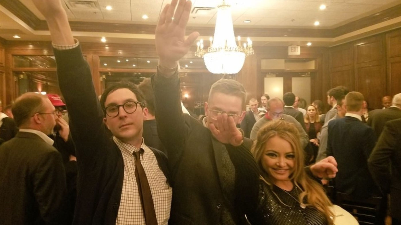 Asian-American reality star Tila Tequila becomes a Nazi