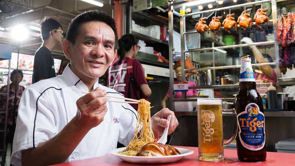 Tiger STREATS hawker chef Chan Hong Meng. Image: Supplied