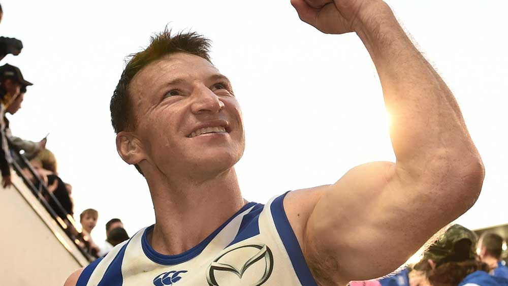 Brent Harvey's No.29 jersey will be retired by the club. (AAP)