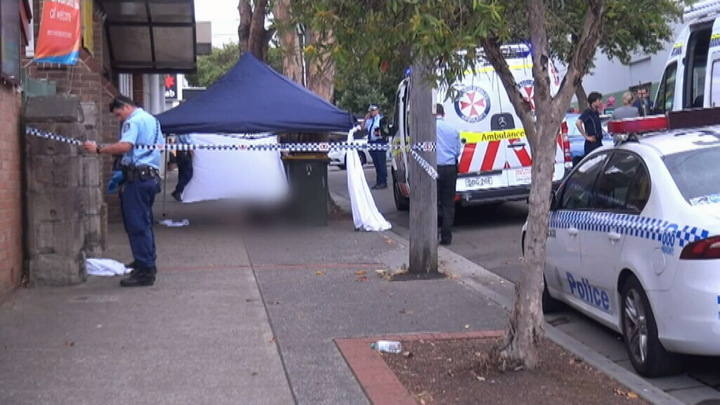 A man has been stabbed to death following an altercation in Campsie. (9NEWS)