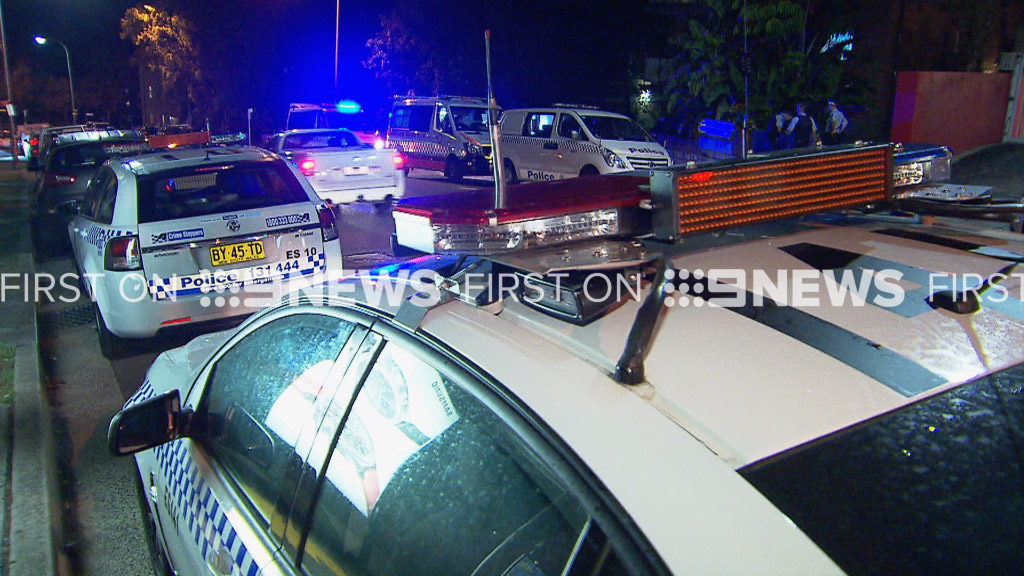 Police were called to the scene. (9NEWS)