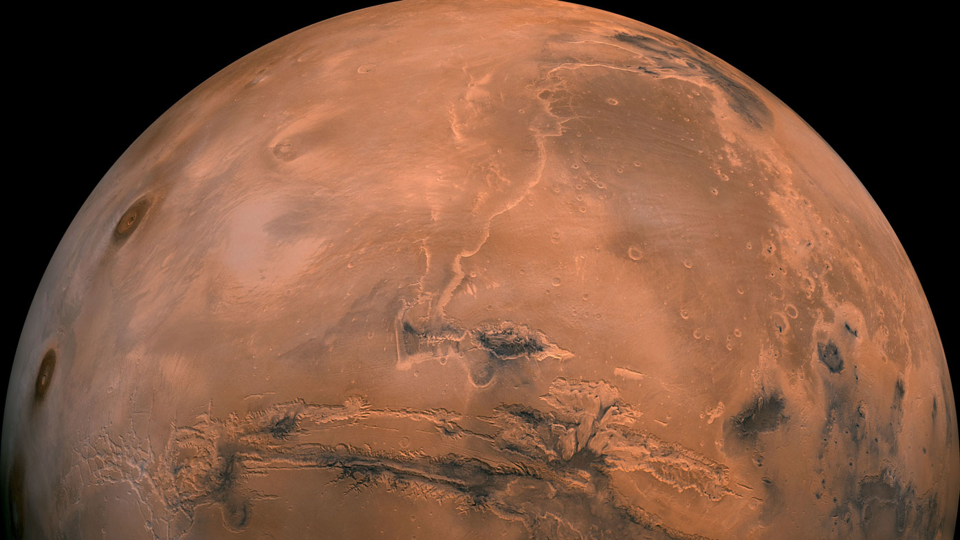 Mineral deposit found on Mars may be evidence of previous life