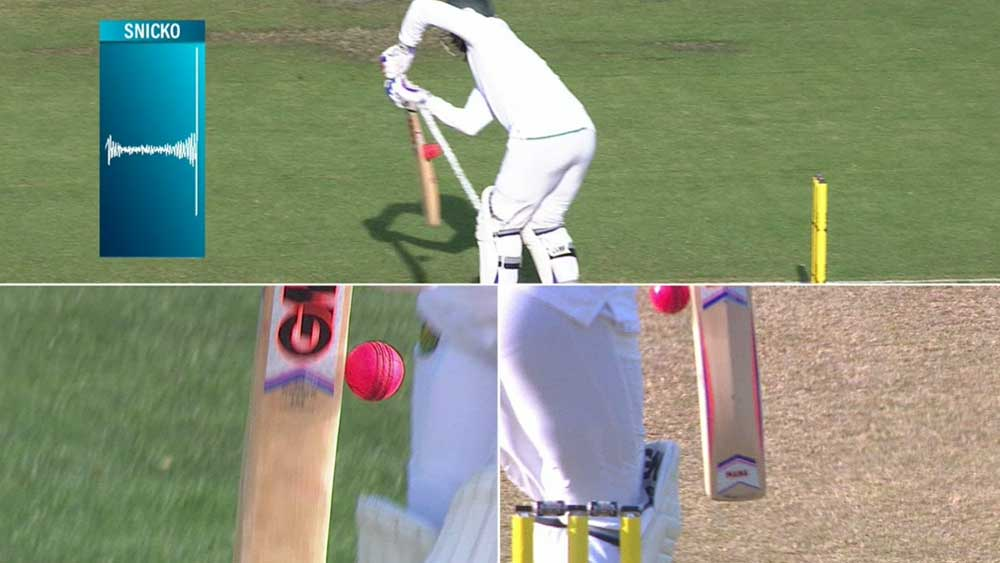 Cricket: Philander out by the barest of margins