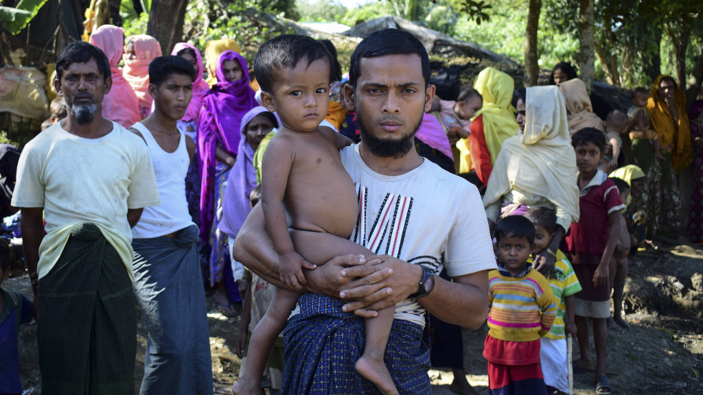 Myanmar pursuing 'ethnic cleansing' of Rohingya Muslims