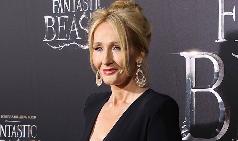 Questions have been raised over the true size of JK Rowling's personal fortune. (AAP)