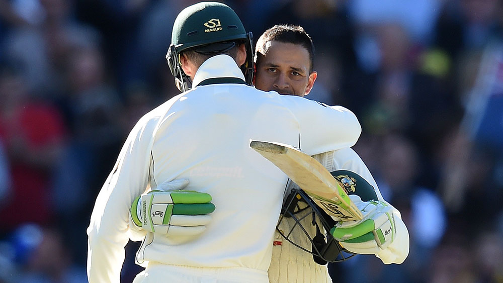 Khawaja powers Aust to 6-307 at stumps