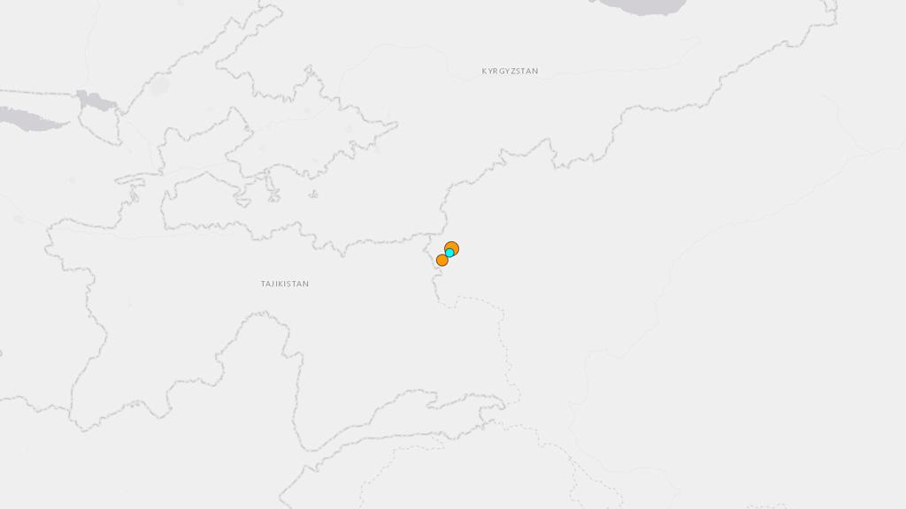 6.5 magnitude quake reportedly hits China's Xinjiang region