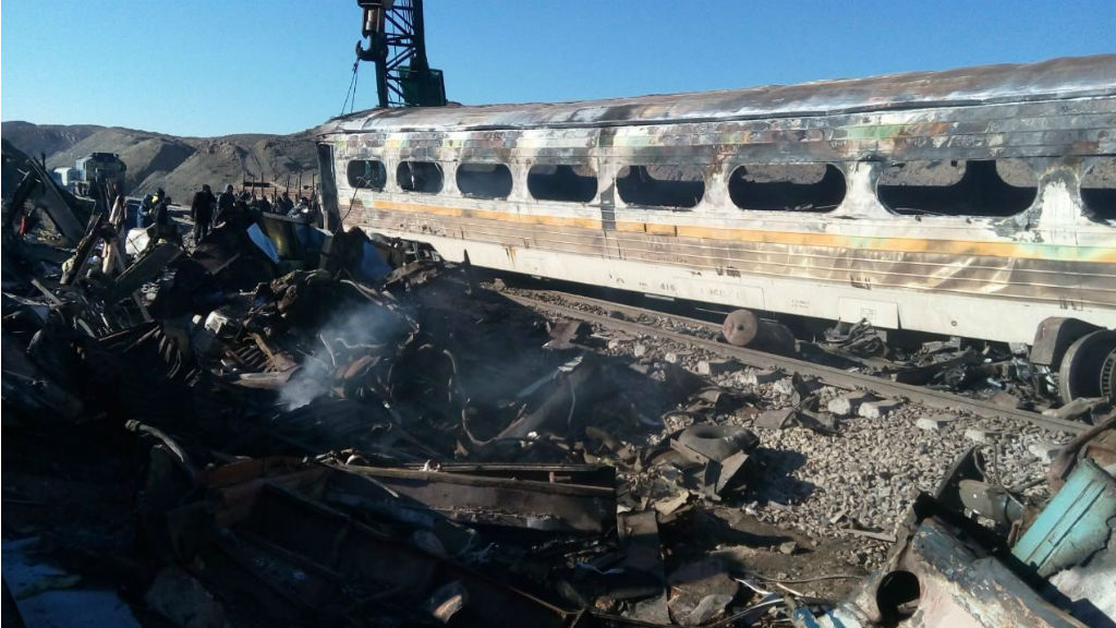 44 dead as trains collide in Iran