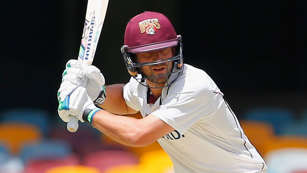 Joe Burns has made a strong start to his innings for Queensland. (Getty Images)