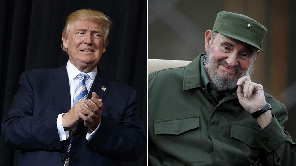 Donald Trump says his administration 'will do all it can' to help Cuban people