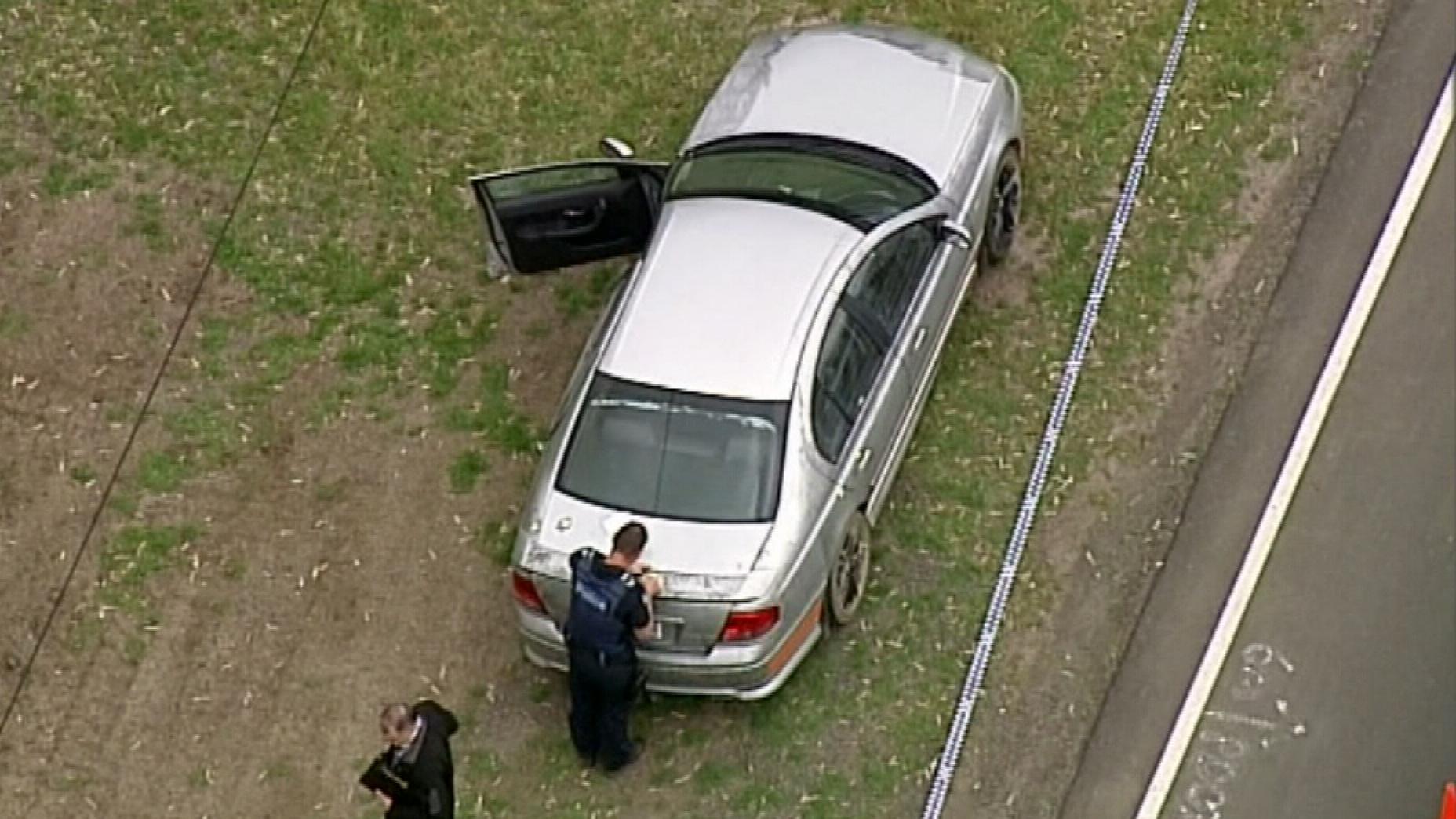 Bound man found in boot of Melbourne car