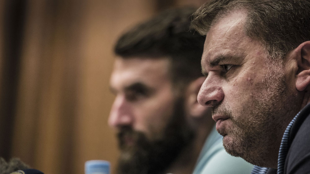 Socceroos coach Ange Postecoglou has plenty of work ahead of him. (AAP)