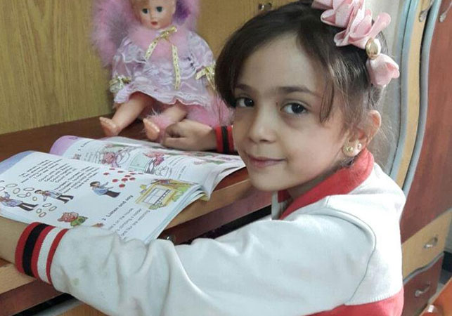 Syrian girl, 7, tweets plea for bombing to stop after home destroyed