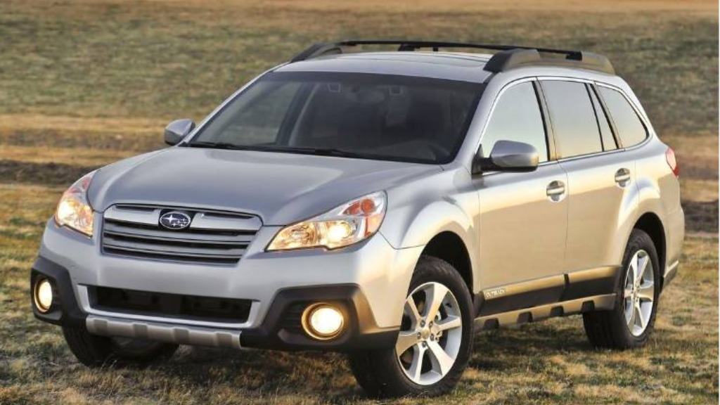 Robinson was last seen in his silver Subaru Outback (similar model shown). (New South Wales Police)