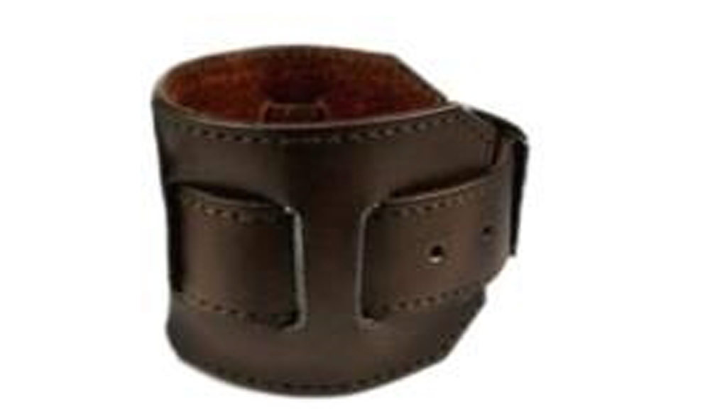 An image of the armband the alleged offender was wearing. (Supplied/Victoria Police)